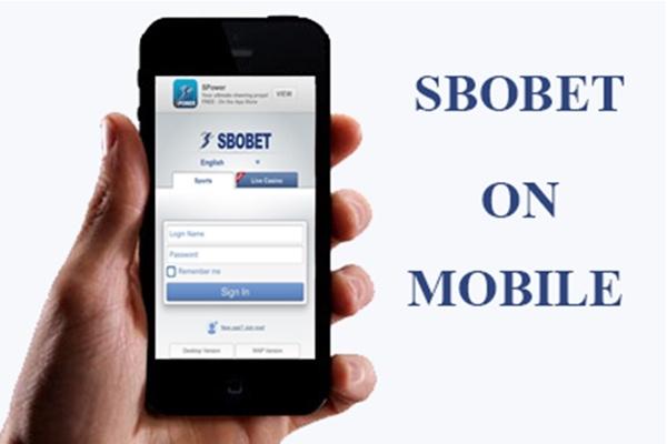 sbobet mobile logo